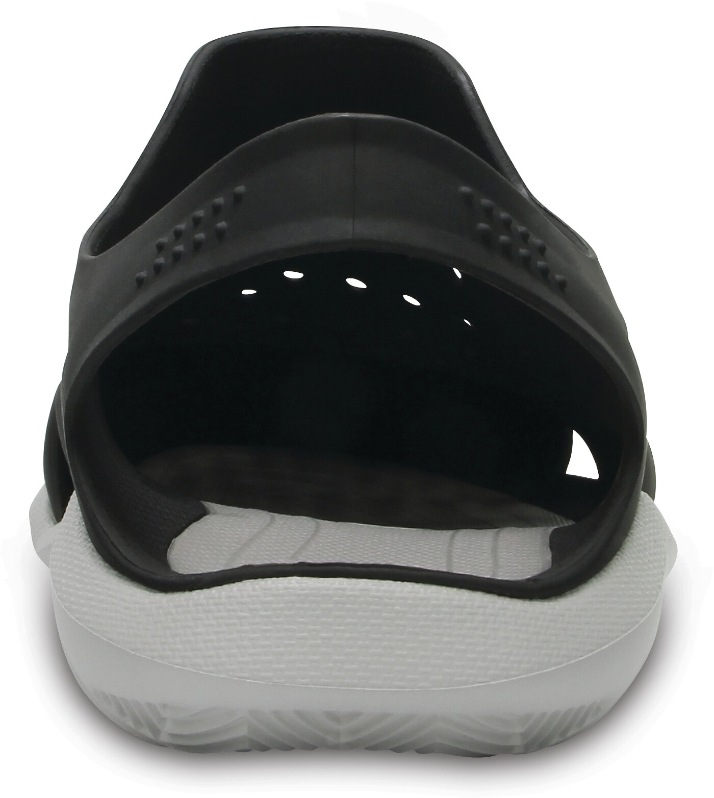 b6edc3196e59b9 Crocs Swiftwater Wave Sandals Men white black at Addnature.co.uk